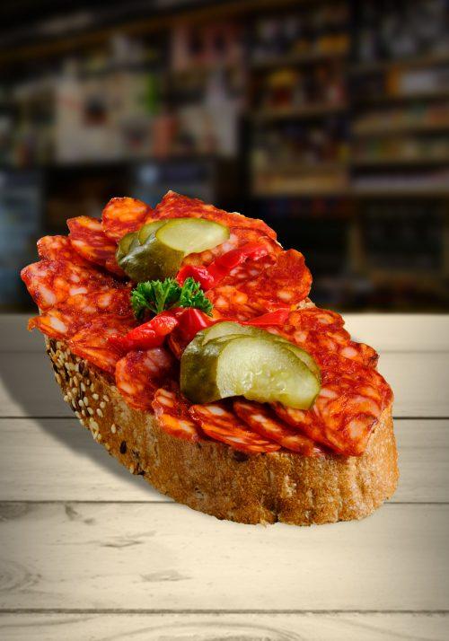 Klobáskový chlebíček